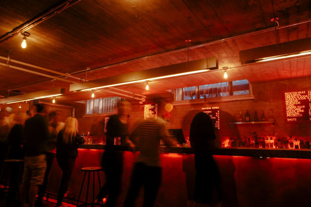 Post Bar is a new club and music bar with good wibes and good music