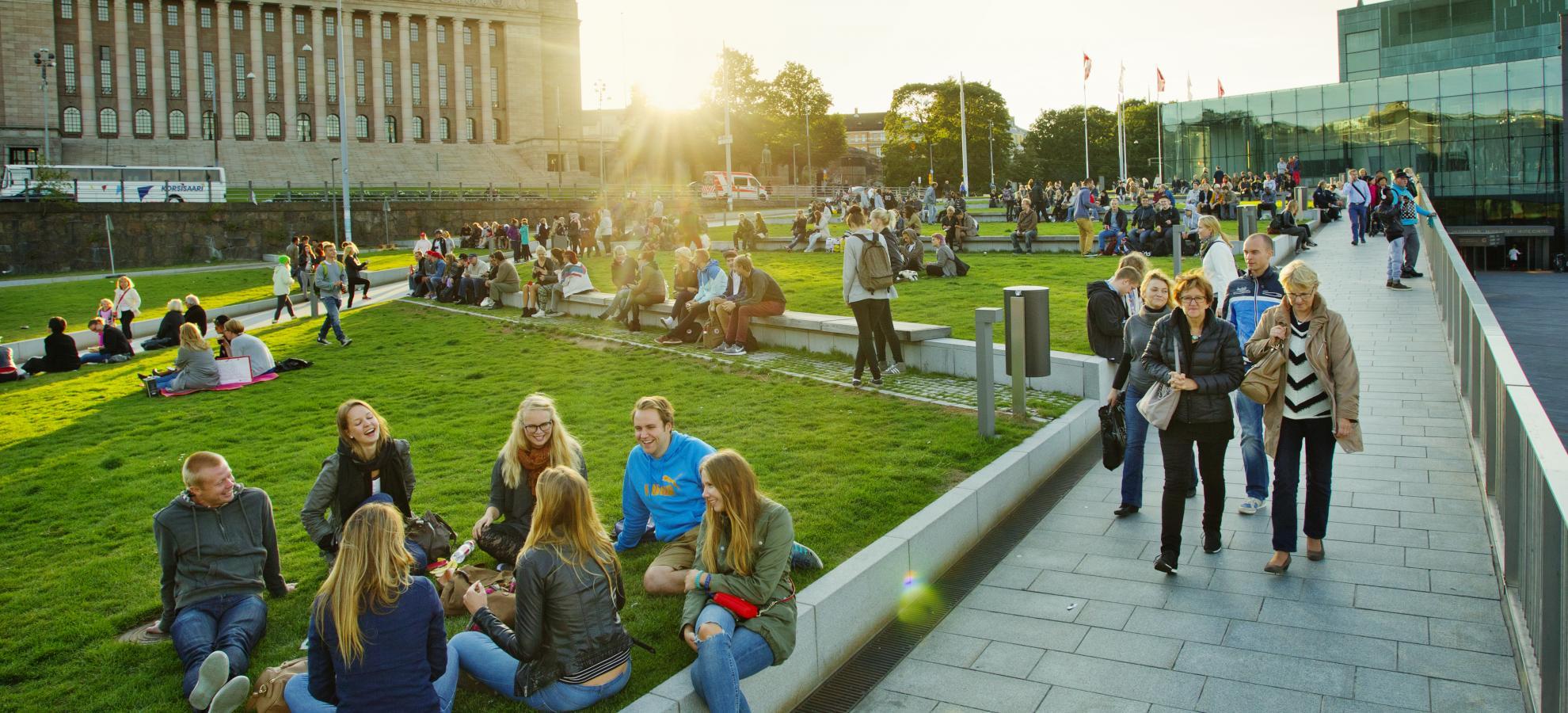 Kansalaistori Square My Helsinki